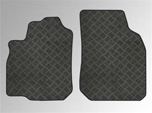 Tapis de sol tech-line-black 4 pcs