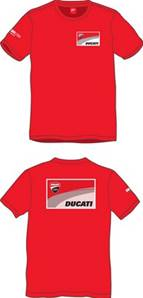 Ducati Man T-Shirt Rouge